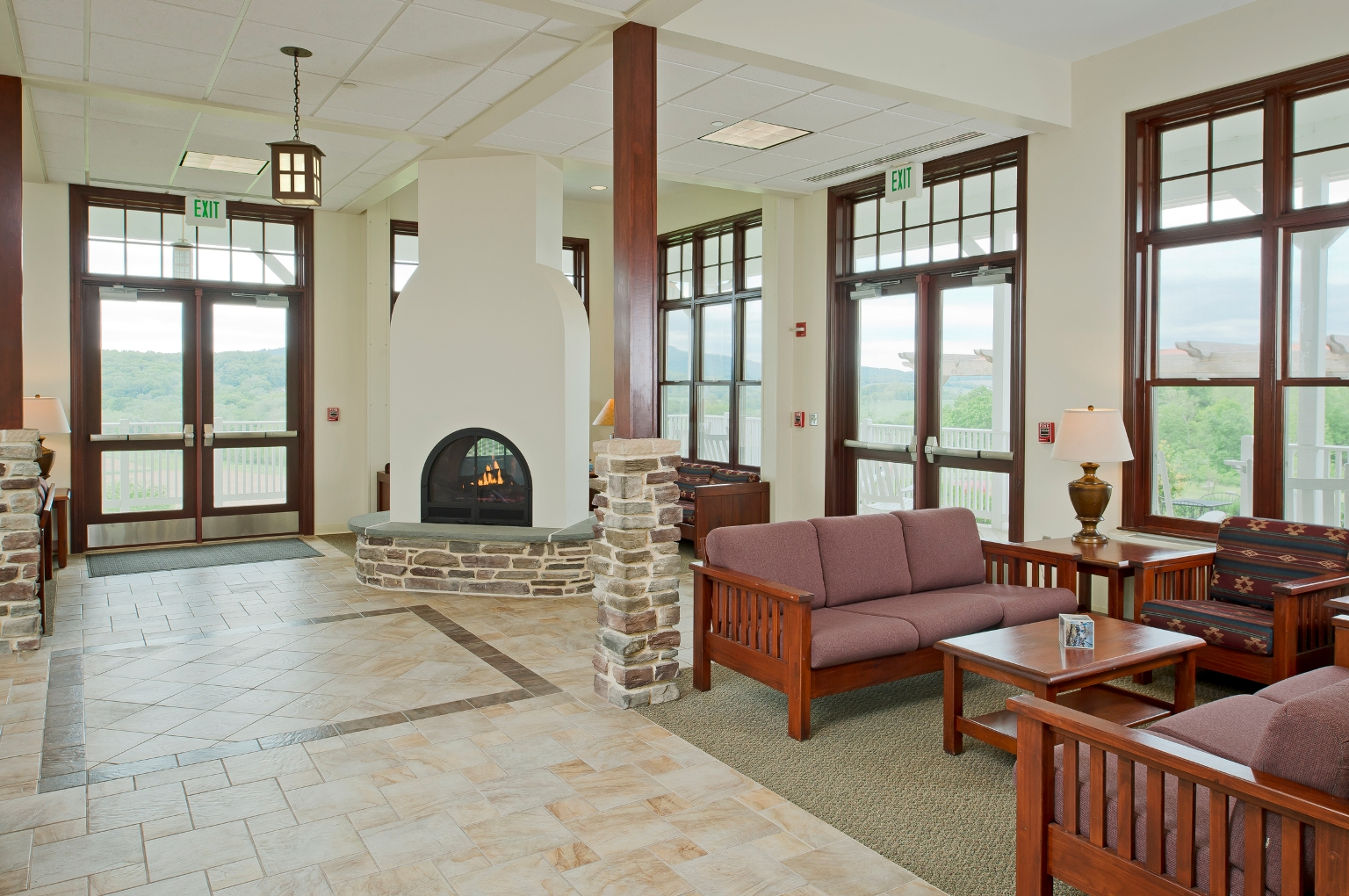Monocacy Hall conversation area